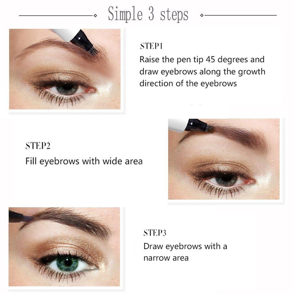 Amazon Eyebrow Microblading Pen Water Proof Eyebrow Tattoo