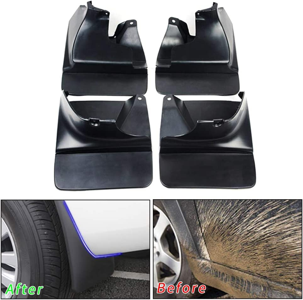 Exterior Accessories Muchkey no dril car mud Flaps for Toyota ...
