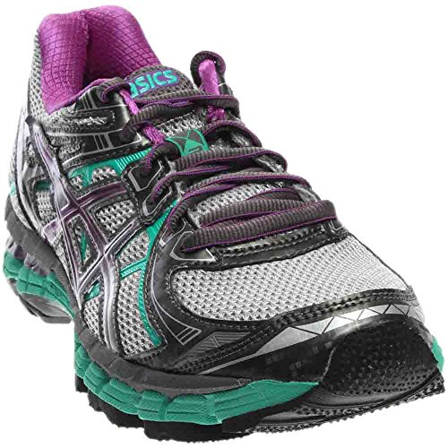 Price comparison product image ASICS Women's GT 2000 2 Trail Running Shoe,Titanium/Purple/Emerald,6.5 M US