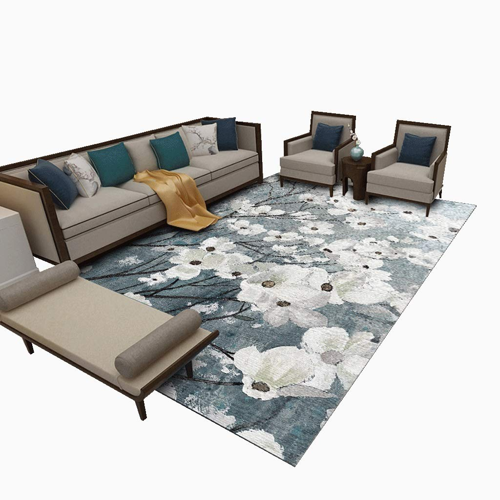 中国風の植物シリーズカーペット混合素材、防湿防カビ、ソファーのコーヒーテーブルに適し、8サイズ、7パターン (パターン : #6, サイズ さいず : 300*400cm/118.0*157.5in) 300*400cm/118.0*157.5in  B07MPSSFHB