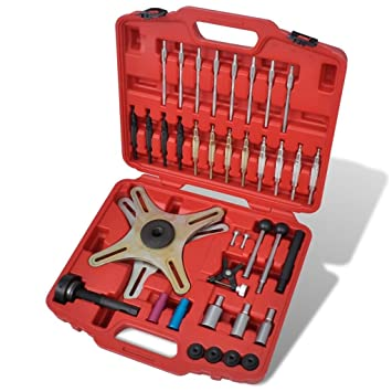 38 Piece Self-Adjusting Clutch Alignment Setting Tool Kit Alignment Tool Kit Suitable for most