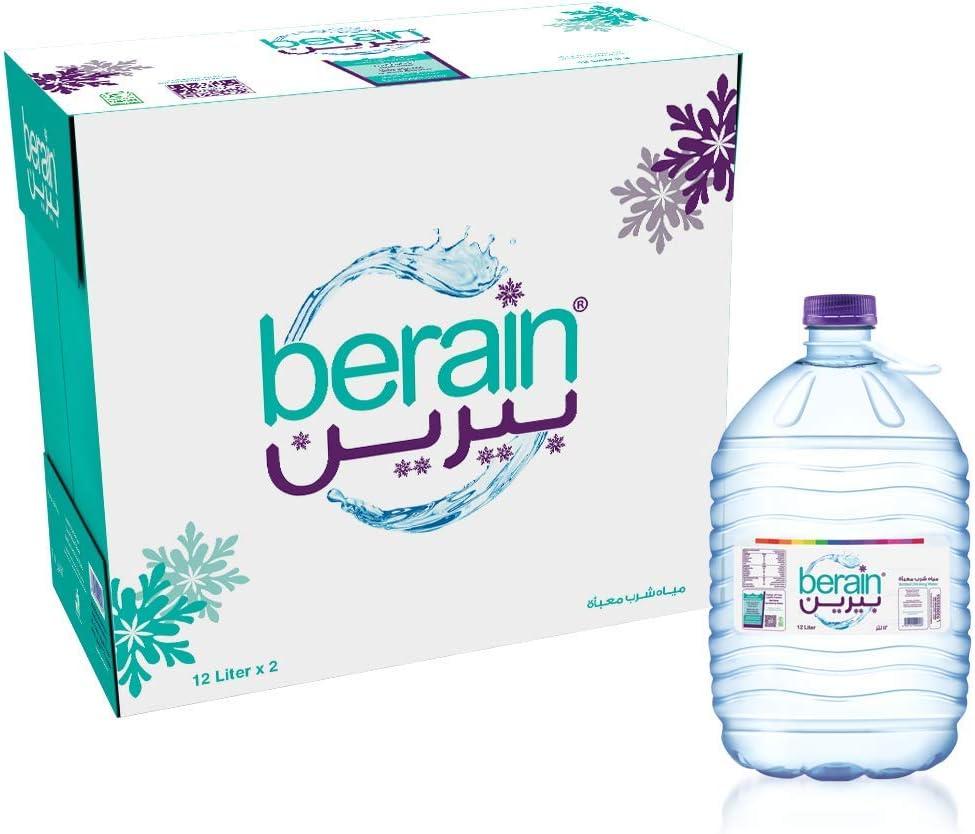 سعر بيرين عبوة مياه مقاس 2 12 لتر فى السعودية بواسطة امازون السعودية كان بكام