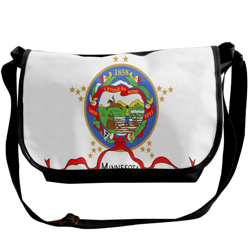 fbfc74e731ed Futong Huaxia Flag Of Minnesota Travel Messenger Bags Casual Handbag ...