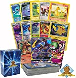 Pokemon 50 Card Lot Guaranteed 1 Mega, EX or GX No Duplicates By Golden Groundhog