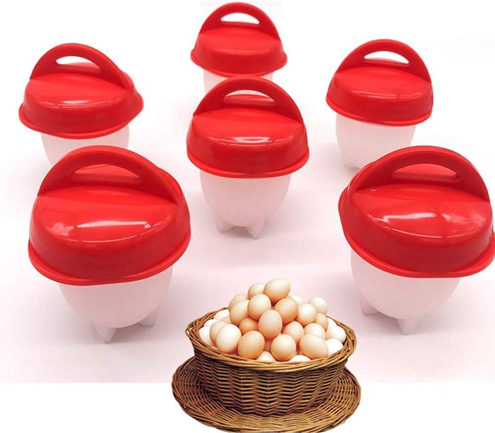 Antihaft-Silikon-Eierbecher f/ür Gem/üse Eier Desserts K/äse Fudges Silikon-Eierkocher