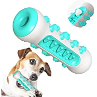 ALAIX Dog Chew Toothbrush Toy - Dental Care Teeth Cleaning Puppy Brushing Stick Tough Dog Toys for Small Medium Dogs(Blue)