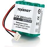 Tenergy 7.2V 2000mAh Replacement Battery for iRobot Braava 320/321 & Mint 4200/4205
