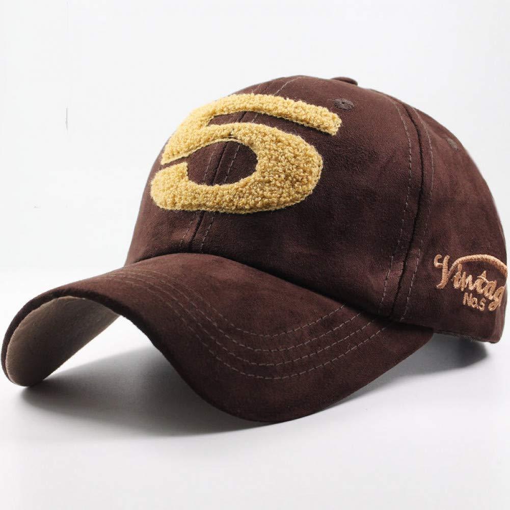 LENGXDR Cap Men Women Suede Baseball Cap Snapback Street Hip Hop Hat Winter Autumn Fashion Vintage Caps For Unisex Casual Hats