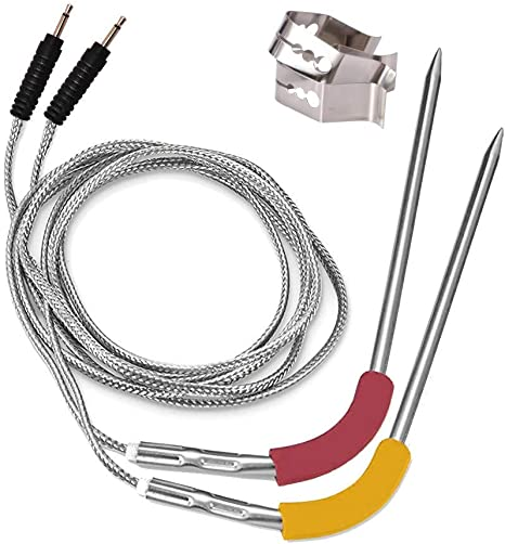 Blue-Green Replacement Probe of Weber iGrill 2 iGrill 3 Thermometer and Weber iGrill Mini /& iGrill Pro Replacement Probe