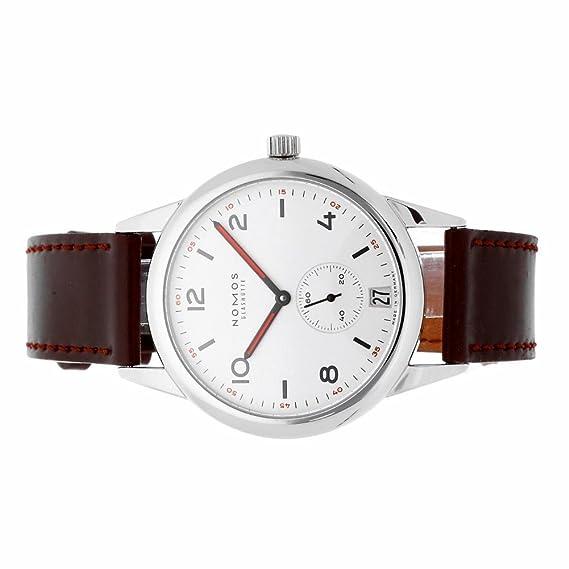 Nomos Glashutte Automat Datum automatic-self-wind reloj para hombre 771 (Certificado)