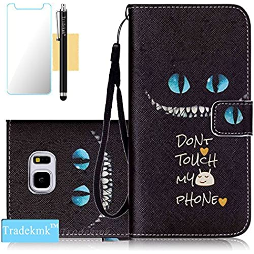 Galaxy S7 Case,S7 Case, Tradekmk(TM);(Pictures Wallet)Chinchilla Wallet Case For Samsung Galaxy S7, (+Stylus+Screen Sales