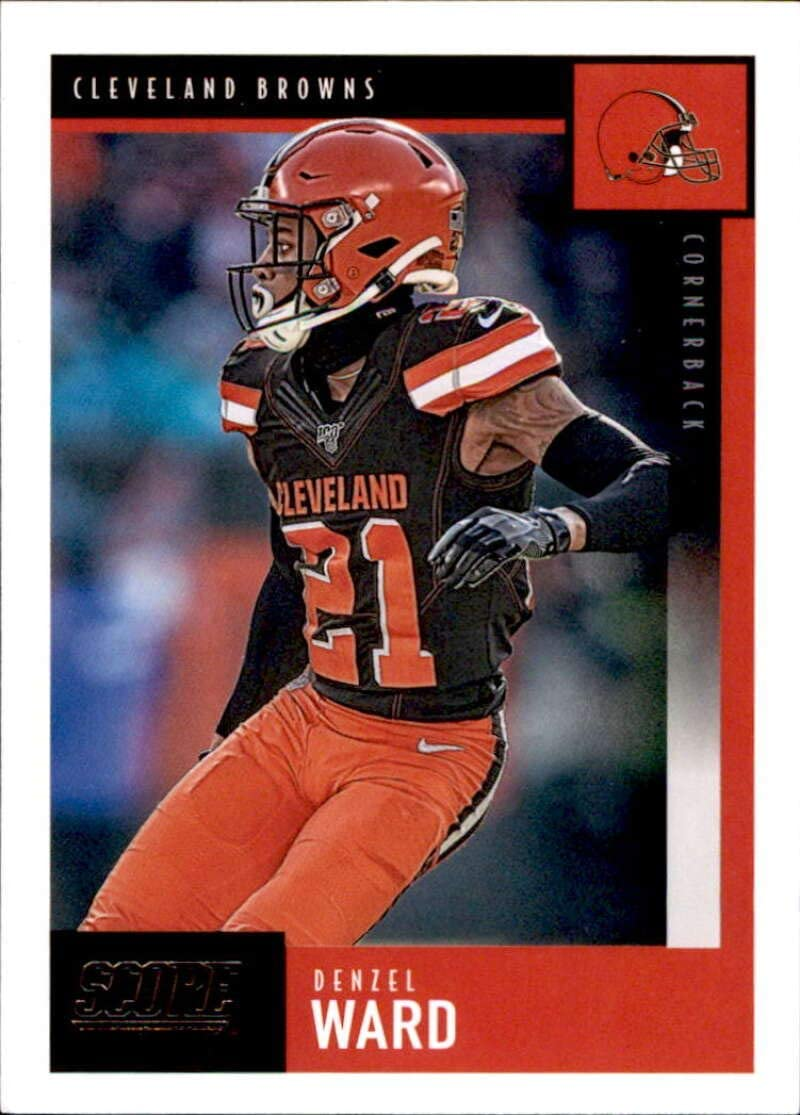 Amazon Com 2020 Score 70 Denzel Ward Cleveland Browns Nfl Football Card Nm Mt Collectibles Fine Art
