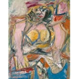 Oil painting 'Willem de Kooning,Woman IV,1952-1953' printing on high quality polyster Canvas , 8x10 inch / 20x26 cm ,the best Home Theater decoration and Home artwork and Gifts is this Cheap but High quality Art Decorative Art Decorative Canvas Prints