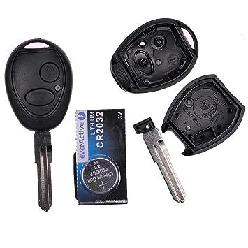 mt-key Auto Radio Llave Mando a Distancia 1 x Carcasa 2 ...