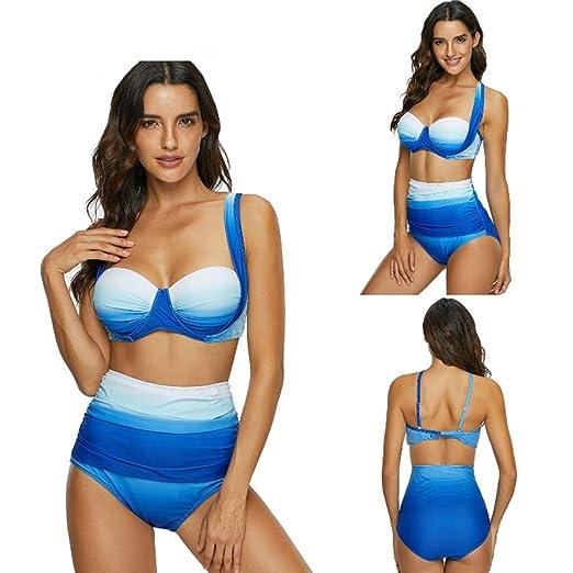 WX xin Trajes de baño Conjuntos De Bikini Mujeres con Aros ...