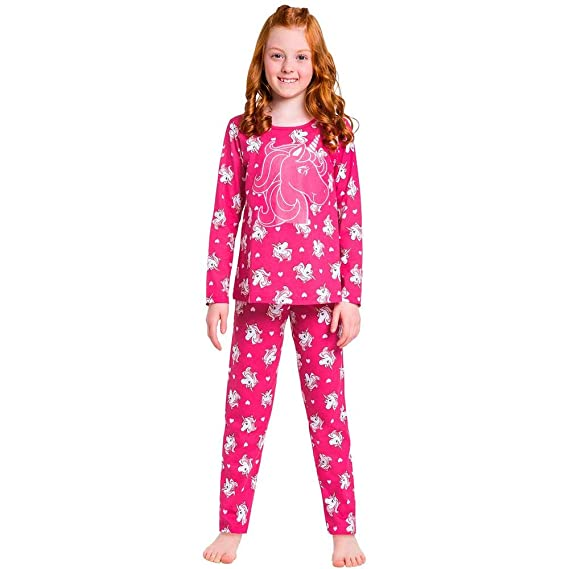 c7bff4643 Pijama Infantil Feminino Blusa + Calça Kyly  Amazon.com.br  Amazon Moda