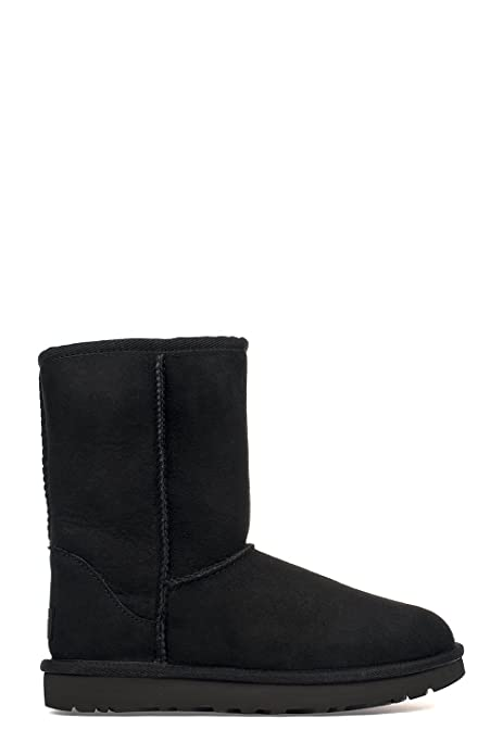 Ugg Mujer Ugsclsbk5825w Negro Lana Botines: Amazon.es: Zapatos y complementos