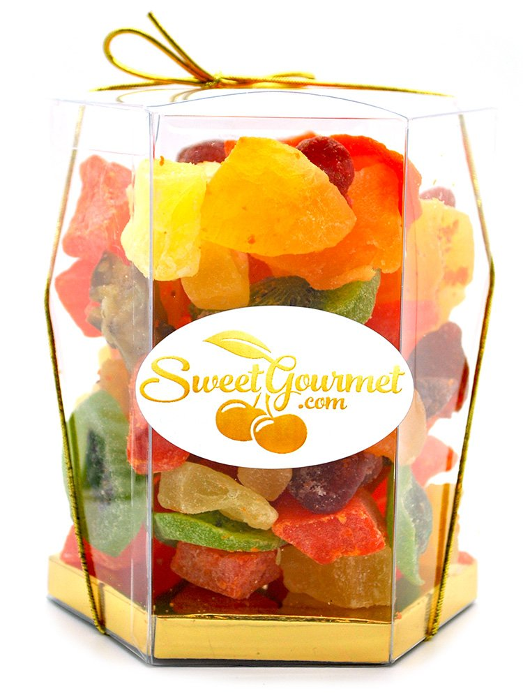 SweetGourmet Tropical Dried Fruit Salad (16oz GIFT BOX) by SweetGourmet (Image #1)