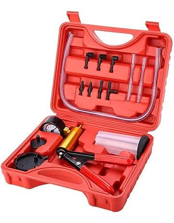 KIMISS Kit de herramientas de sangrado de freno + Bomba de vacío de purga de freno