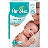 Pampers Pro-Care Essential Nappies, 38 Count