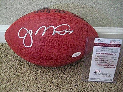 [Joe Montana Signed Autograph Official Nfl Wilson Football - JSA Authenticated] (Joe Montana Official Football)