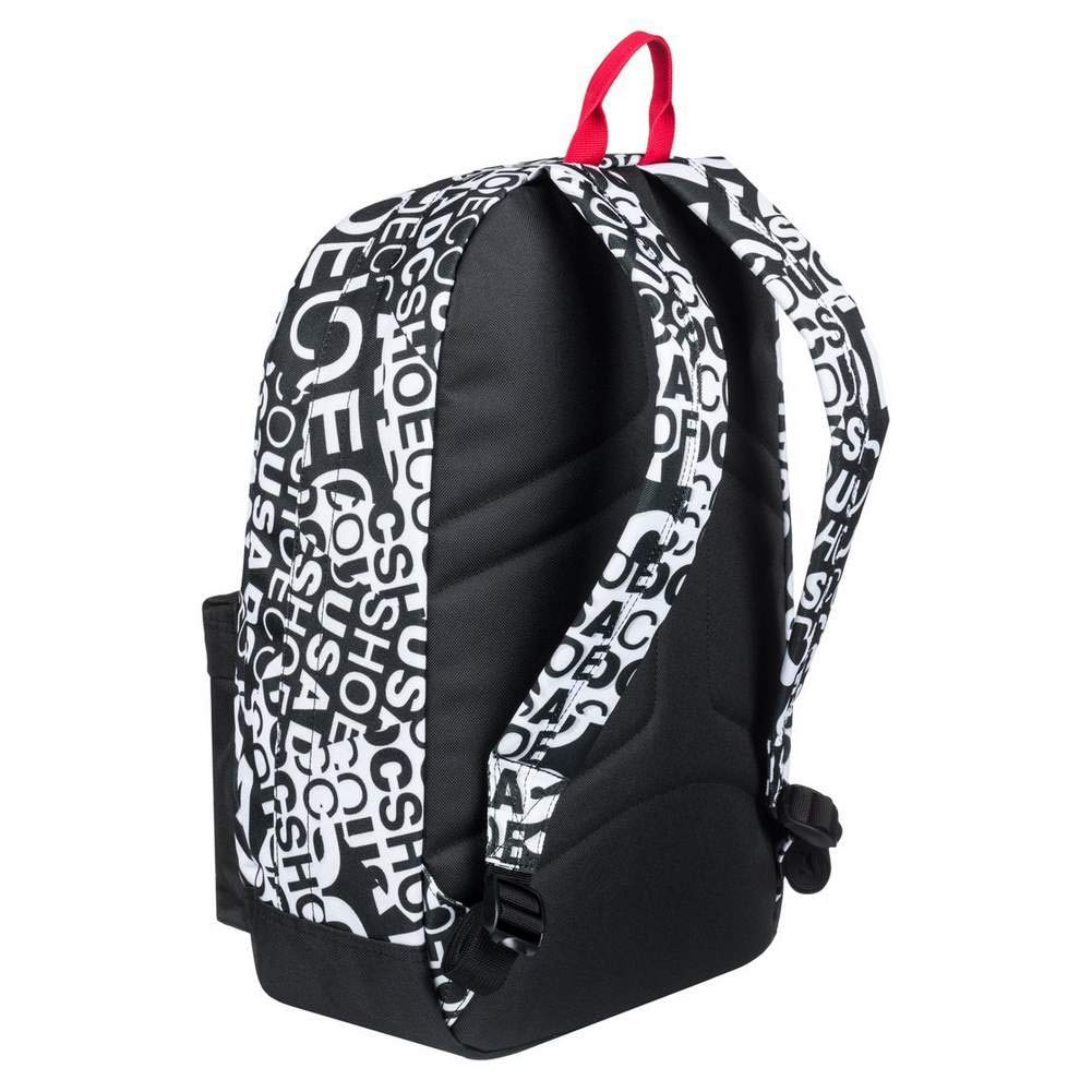 DC Shoes Backstack 18.5L Sac /à Dos Homme FR Unique Taille Fabricant : 1 Size Snow White