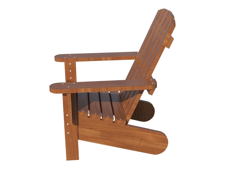 Amazon Com Adirondack Chair Plans Diy Patio Lawn Deck Garden