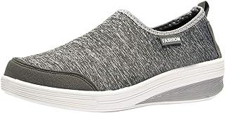 LMMET Scarpe da Ginnastica Donna Sneakers Runnning,Scarpe Casual per Studenti,Bianca