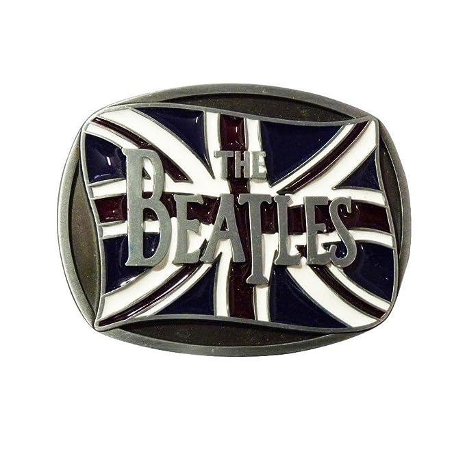 7852c5783e06 hotrodspirit - boucle de ceinture groupe beatles drapeau anglais union jack