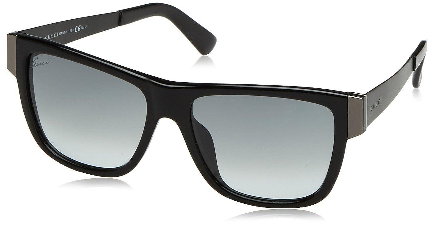 Amazon.com: Gucci anteojos de sol GG 3718/S aczjj acetato ...
