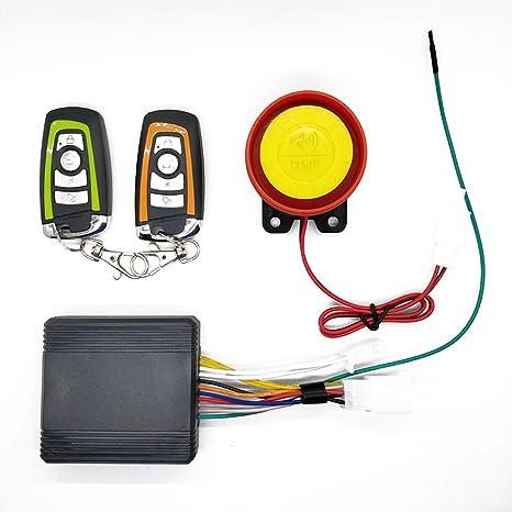 Sistema universal de alarma de motocicleta 12V Sistema de ...