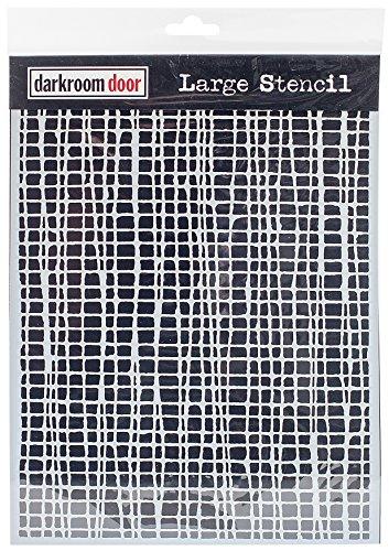 9 X 12 Stencil (Darkroom Door DDLS001 Stencil 9
