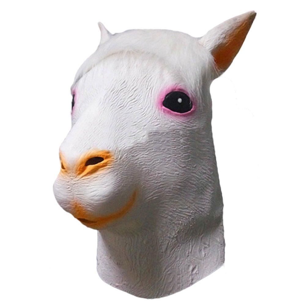 Queenshiny® máscara de látex animales (perro pug)