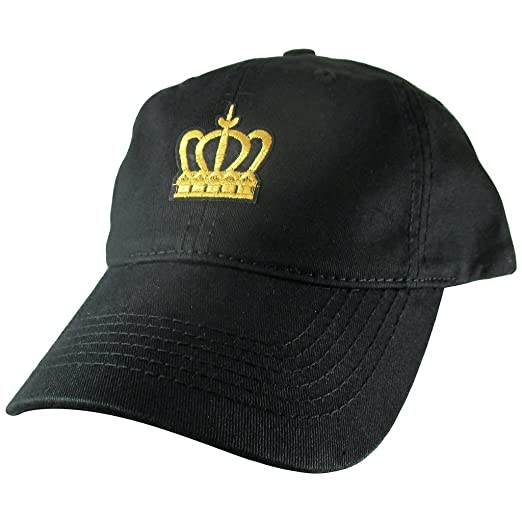 Image Unavailable. Image not available for. Color  AffinityAddOns Gold  Crown Dad Hat 4d8d4bcca16