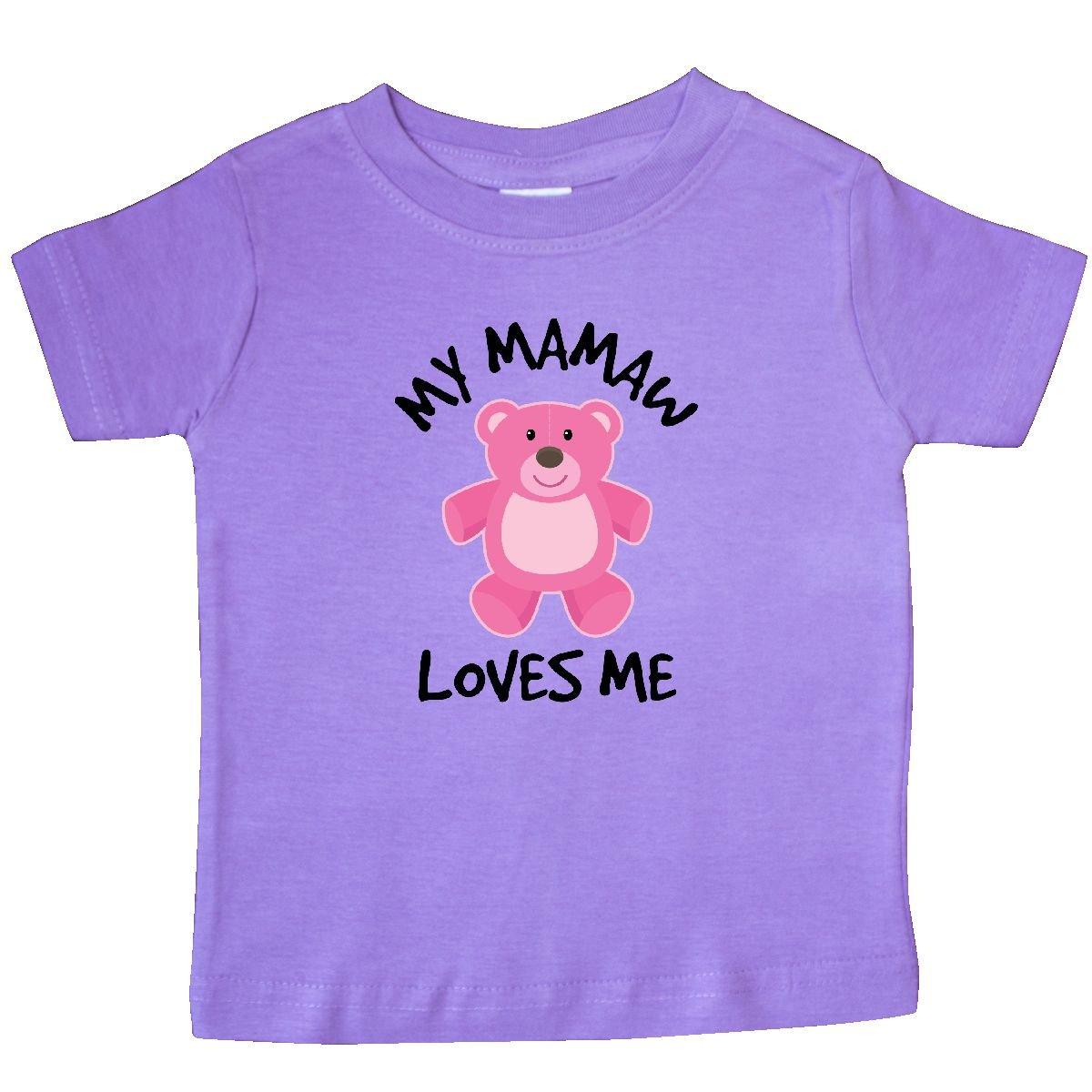 Inktastic Mamaw Loves Me Grandchild Gift Toddler Dress From Granddaughter Girls