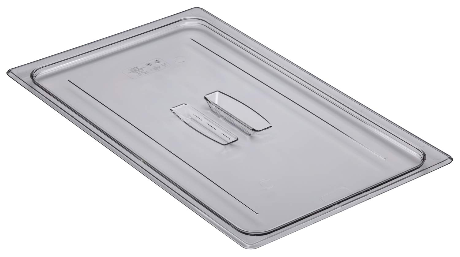 Cambro Camwear 10CWCH135 Food Pan Lid 1/1 Cover with Handle, Clear