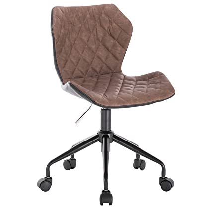Fantastic Woltu Office Chair Brown Swivel Adjustable Chair With Pabps2019 Chair Design Images Pabps2019Com