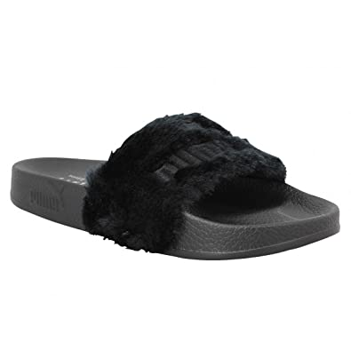 PUMA 100% Genuine Rihanna x Leadcat Fenty Slides Slippers Sandals 362266-03  Black Women s UK 7 EU 40.5  Amazon.co.uk  Shoes   Bags 1962e17e2