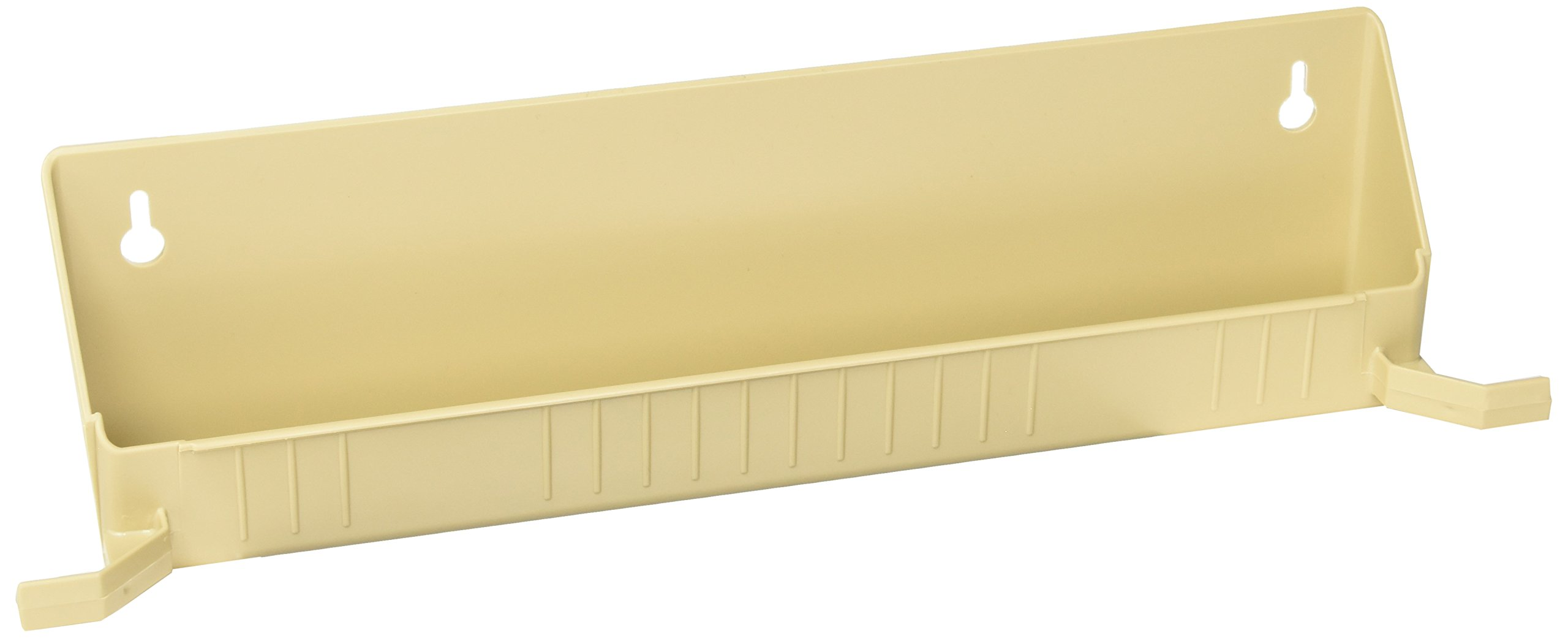 Rev-A-Shelf 14 in Tip-Out Trays w/Tab Stops, White