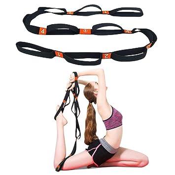 Grist CC Correa Yoga Múltiples Lazos De Agarre Yoga Strap ...