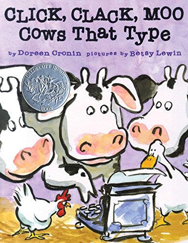 Click, Clack, Moo: Cows That Type by [Cronin, Doreen]