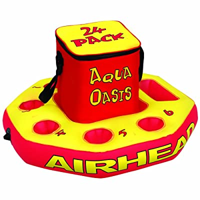 Airhead Aqua Oasis Insulated Nylon Cooler w/ Removable Floating Base | AHAO-1: Toys & Games