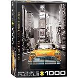 new york city taxi - EuroGraphics New York City Yellow Cab Puzzle (1000-Piece)