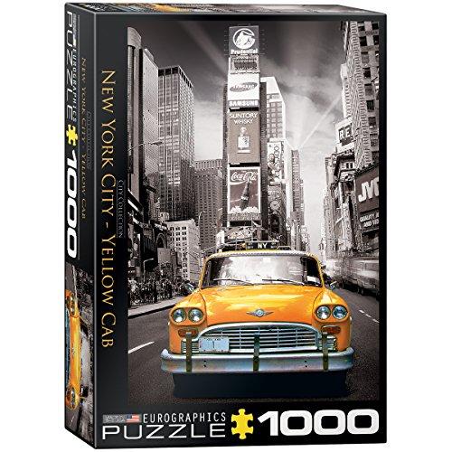 EuroGraphics New York City Yellow Cab Puzzle (1000-Piece)