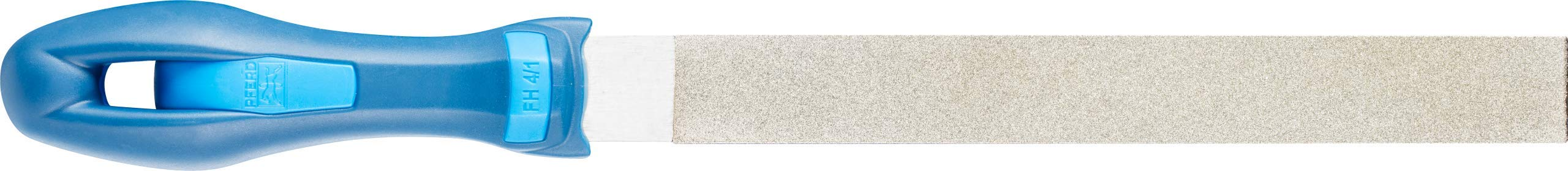 PFERD Machinist Hand File, Diamond Grit, Rectangular, Coarse, 8'' Length