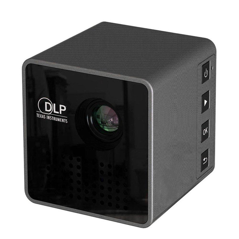 P1 Mini proyector HD portátil casa, WiFi beamer, proyector Apple ...