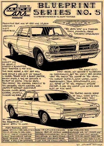 1964 Pontiac GTO Art Print ()
