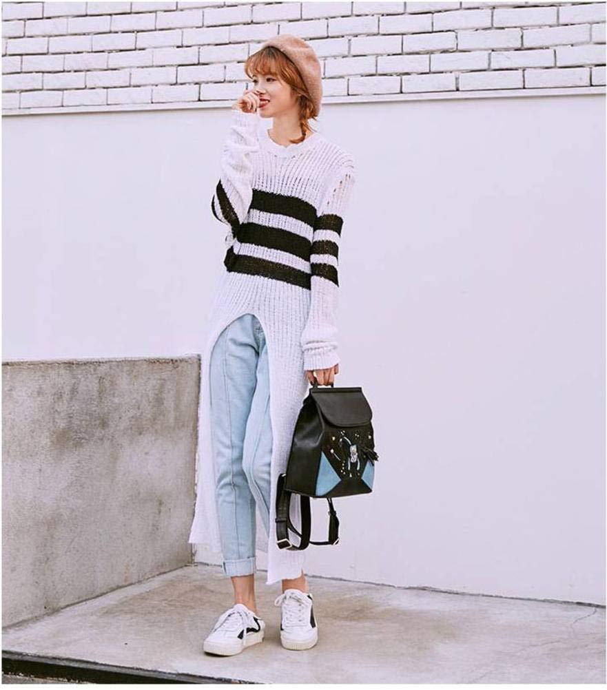 YTTY Damen Damen Damen Schultertasche mit Nieten, koreanisch, modisch, PU-Leder B07MNLW4B2 Schultertaschen Won hoch geschätzt und weithin Grünraut im in- und Ausland Grünraut ceef91