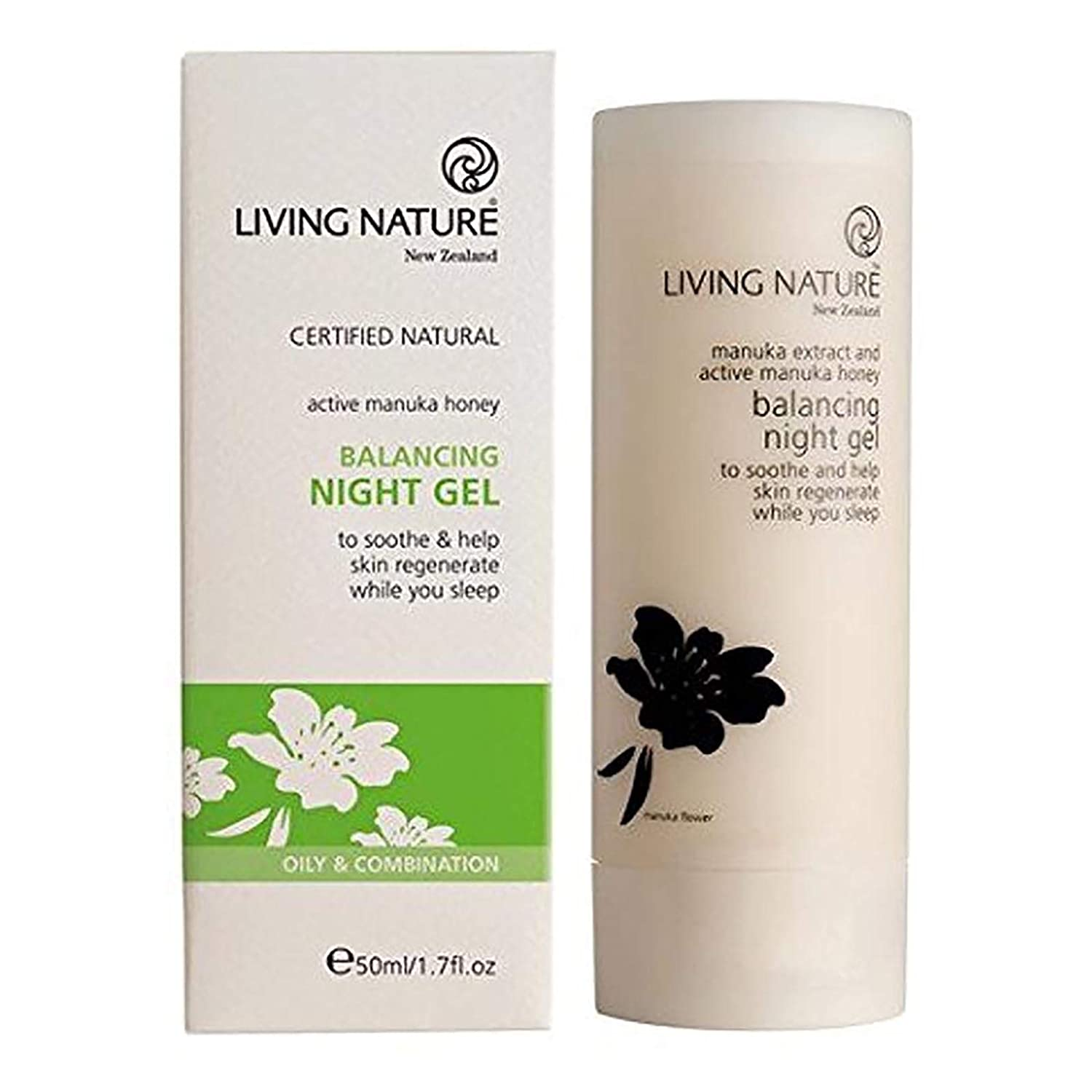 Living Nature Balancing Night Gel (oily/anti-acne)