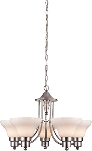 Westinghouse Lighting 6228000 Swanstone Five-Light Interior Chandelier